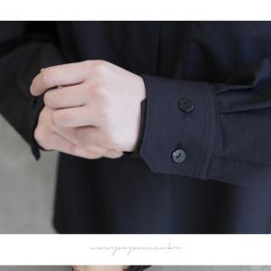 ブラウス レディース 40代 50代 60代 ファッション 女性 上品  黒 茶色 カーキ 緑 カーキ 緑トップス 長袖 無地  春 ミセス|alice-style|11