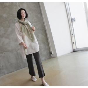 シャツ ブラウス レディース 40代 50代 60代 ファッション 女性 上品  白 ベージュ 紺 青無地 長袖 ゆったり 体形カバー 春 ミセス|alice-style|06
