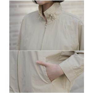 ジャケット レディース 大人 40代 50代 60代 ファッション 女性 上品 黒 ベージュハーフ丈 ジップアップ 春 ミセス alice-style 11