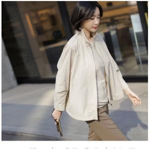 ジャケット レディース 大人 40代 50代 60代 ファッション 女性 上品 黒 ベージュハーフ丈 ジップアップ 春 ミセス alice-style 13