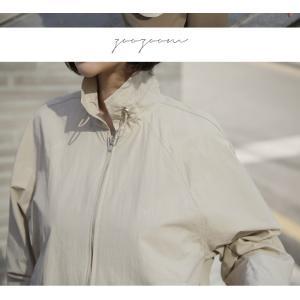 ジャケット レディース 大人 40代 50代 60代 ファッション 女性 上品 黒 ベージュハーフ丈 ジップアップ 春 ミセス alice-style 06
