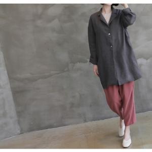 ニット トップス レディース 40代 50代 60代 ファッション 女性 上品  黒 ベージュ 紺 青ニット 無地 春 ミセス|alice-style|18