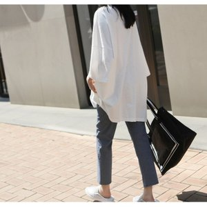 Tシャツ レディース 40代 50代 60代 ファッション 女性 上品  イエロー 黄色トップス ロゴ ゆったり 体形カバー 春 ミセス alice-style 05