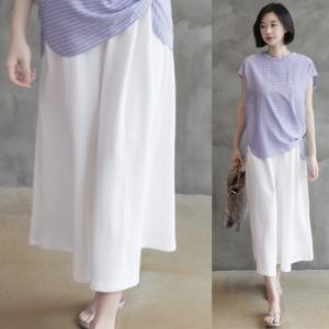 ワイドパンツ レディース 40代 50代 60代 ファッション 女性 上品  黒 白パンツ 春 ミセス|alice-style