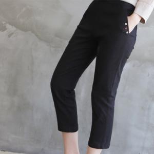 パンツ レディース 大人 40代 50代 60代 ファッション 女性 上品 黒 白 ベージュ グレー クロップドパンツ 春夏 ミセス|alice-style