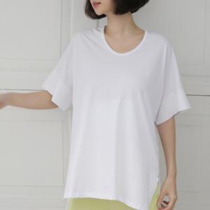 Tシャツ レディース 40代 50代 60代 ファッション 女性 上品  黒 白 グレー半袖 無地 トップス 春 ミセス|alice-style