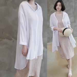 カーディガン レディース 大人 40代 50代 60代 ファッション 女性 上品 白ロング丈 ロングカーディガン 春 ミセス|alice-style