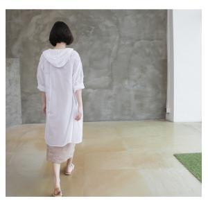 カーディガン レディース 大人 40代 50代 60代 ファッション 女性 上品 白ロング丈 ロングカーディガン 春 ミセス alice-style 11