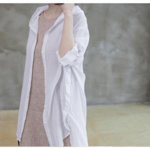 カーディガン レディース 大人 40代 50代 60代 ファッション 女性 上品 白ロング丈 ロングカーディガン 春 ミセス alice-style 15