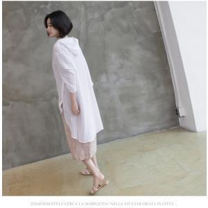 カーディガン レディース 大人 40代 50代 60代 ファッション 女性 上品 白ロング丈 ロングカーディガン 春 ミセス alice-style 17
