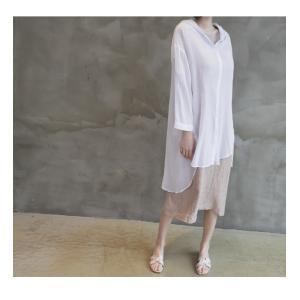 カーディガン レディース 大人 40代 50代 60代 ファッション 女性 上品 白ロング丈 ロングカーディガン 春 ミセス alice-style 19