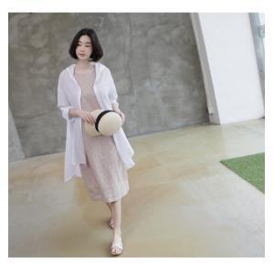 カーディガン レディース 大人 40代 50代 60代 ファッション 女性 上品 白ロング丈 ロングカーディガン 春 ミセス alice-style 05