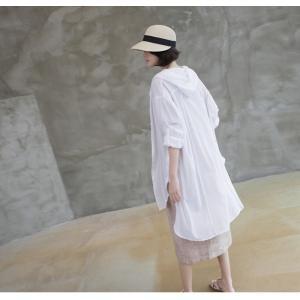 カーディガン レディース 大人 40代 50代 60代 ファッション 女性 上品 白ロング丈 ロングカーディガン 春 ミセス alice-style 08