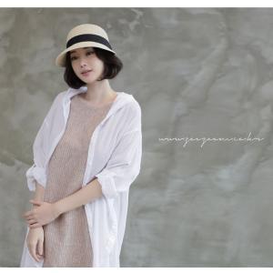 カーディガン レディース 大人 40代 50代 60代 ファッション 女性 上品 白ロング丈 ロングカーディガン 春 ミセス alice-style 09