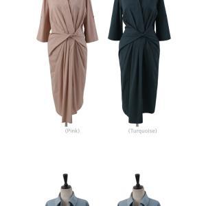 ワンピース レディース 40代 50代 60代 ファッション 女性 上品 シャツワンピース 無地 膝丈 きれいめ 春 ミセス|alice-style|20