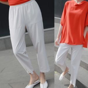 パンツ レディース 40代 50代 60代 ファッション 女性 上品  黒  ベージュ  紺 青 きれいめ 春夏 ミセス|alice-style