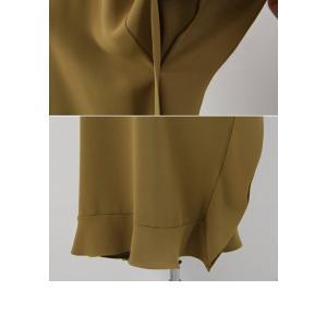 ワンピース レディース 40代 50代 60代 ファッション 女性 上品  黒 ベージュ膝丈 無地 半袖 きれいめ 通勤 春 ミセス|alice-style|20