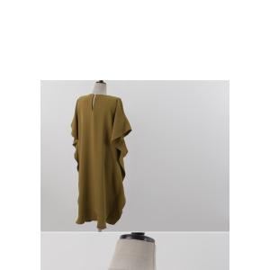 ワンピース レディース 40代 50代 60代 ファッション 女性 上品  黒 ベージュ膝丈 無地 半袖 きれいめ 通勤 春 ミセス|alice-style|21
