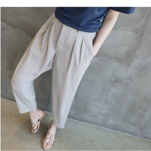 Tシャツ レディース 40代 50代 60代 ファッション 女性 上品  黒 グレー スラブ生地 トップス 無地 半袖 春 ミセス alice-style 16