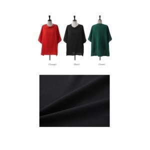 ブラウス レディース 40代 50代 60代 ファッション 女性 上品  黒 無地 ゆったり 体形カバー 半袖 春夏 ミセス|alice-style|02