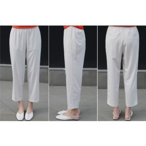 ブラウス レディース 40代 50代 60代 ファッション 女性 上品  黒 無地 ゆったり 体形カバー 半袖 春夏 ミセス|alice-style|11