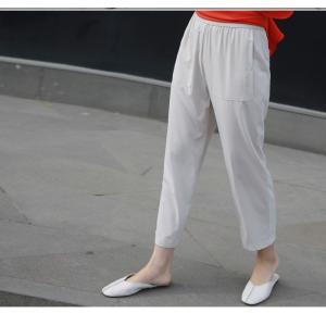 ブラウス レディース 40代 50代 60代 ファッション 女性 上品  黒 無地 ゆったり 体形カバー 半袖 春夏 ミセス|alice-style|17