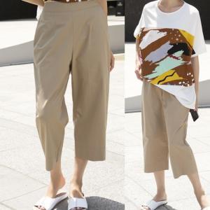 パンツ レディース 大人 40代 50代 60代 ファッション 女性 上品 黒 白 赤 ベージュ クロップドパンツ シンプル 春夏 ミセス|alice-style
