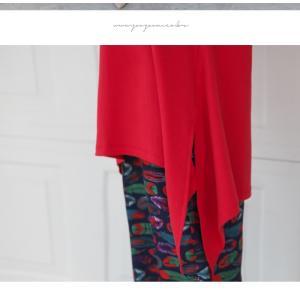 ブラウス レディース 40代 50代 60代 ファッション 女性 上品  黒 白 赤7分袖 無地 トップス 春 ミセス|alice-style|17