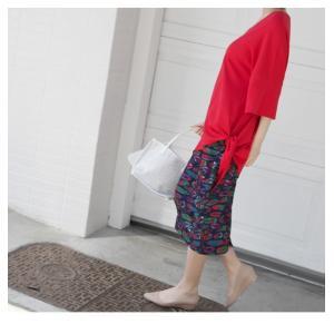 ブラウス レディース 40代 50代 60代 ファッション 女性 上品  黒 白 赤7分袖 無地 トップス 春 ミセス|alice-style|06