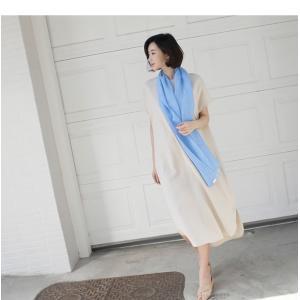 ワンピース レディース 40代 50代 60代 ファッション 女性 上品  茶色 ベージュリネン 半袖 ロング丈 無地 きれいめ 春 ミセス|alice-style|19