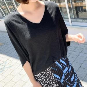 トップス レディース 40代 50代 60代 ファッション 女性 上品  黒  ベージュ  グレー Tシャツ ドルマン ゆったり 体形カバー 無地 春夏 ミセス|alice-style