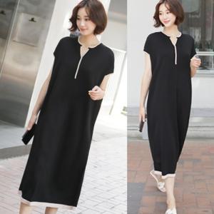 ワンピース レディース 40代 50代 60代 ファッション 女性 上品  黒  ベージュ ロング丈 半袖 春夏 ミセス alice-style