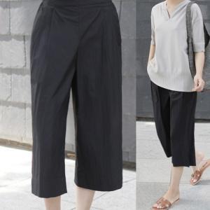パンツ レディース 40代 50代 60代 ファッション 女性 上品  黒  ベージュ きれいめ クロップドパンツ 春夏 ミセス|alice-style