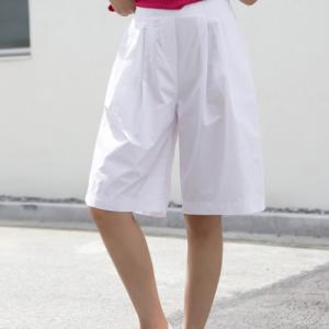 パンツ レディース 大人 40代 50代 60代 ファッション 女性 上品 白 赤 イエロー 黄色 ベージュ 紺 青 カーキ 緑 カーキ|alice-style