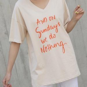 Tシャツ レディース 40代 50代 60代 ファッション 女性 上品  白  ベージュ 半袖 トップス ロゴ 春夏 ミセス|alice-style