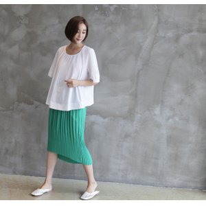 トップス レディース 40代 50代 60代 ファッション 女性 上品  黒 Tシャツ 半袖 無地 春夏 ミセス|alice-style|15
