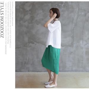 トップス レディース 40代 50代 60代 ファッション 女性 上品  黒 Tシャツ 半袖 無地 春夏 ミセス|alice-style|16