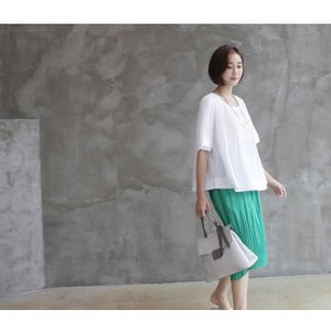 トップス レディース 40代 50代 60代 ファッション 女性 上品  黒 Tシャツ 半袖 無地 春夏 ミセス|alice-style|21