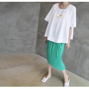 トップス レディース 40代 50代 60代 ファッション 女性 上品  黒 Tシャツ 半袖 無地 春夏 ミセス|alice-style|04
