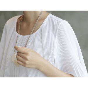 トップス レディース 40代 50代 60代 ファッション 女性 上品  黒 Tシャツ 半袖 無地 春夏 ミセス|alice-style|05