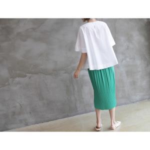 トップス レディース 40代 50代 60代 ファッション 女性 上品  黒 Tシャツ 半袖 無地 春夏 ミセス|alice-style|06