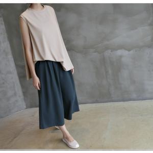 ブラウス レディース 40代 50代 60代 ファッション 女性 上品  黒  ベージュ  グレー 無地 ノースリーブ きれいめ トップス 春夏 ミセス|alice-style|13