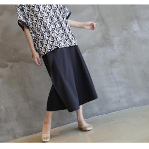 ブラウス レディース 40代 50代 60代 ファッション 女性 上品 柄 トップス ゆったり 体形カバー 春夏 ミセス|alice-style|13