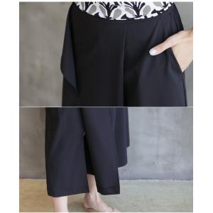 ブラウス レディース 40代 50代 60代 ファッション 女性 上品 柄 トップス ゆったり 体形カバー 春夏 ミセス|alice-style|08