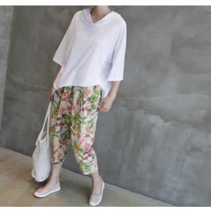 Tシャツ レディース 40代 50代 60代 ファッション 女性 上品  黒  白  茶色  グレー トップス フード パーカー 無地 ゆったり 春夏 ミセス|alice-style|05