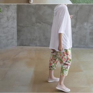 Tシャツ レディース 40代 50代 60代 ファッション 女性 上品  黒  白  茶色  グレー トップス フード パーカー 無地 ゆったり 春夏 ミセス|alice-style|08