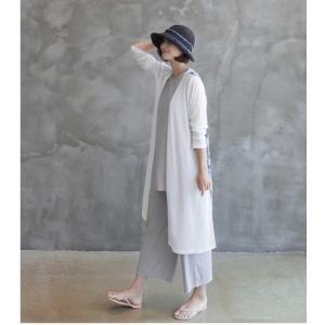 カーディガン レディース 40代 50代 60代 ファッション 女性 上品 ロングカーディガン タイダイ ロング丈 春夏 ミセス|alice-style|14
