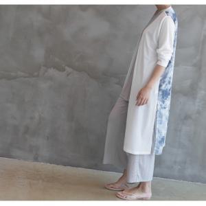 カーディガン レディース 40代 50代 60代 ファッション 女性 上品 ロングカーディガン タイダイ ロング丈 春夏 ミセス|alice-style|06