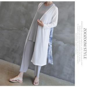 カーディガン レディース 40代 50代 60代 ファッション 女性 上品 ロングカーディガン タイダイ ロング丈 春夏 ミセス|alice-style|09