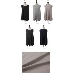 トップス レディース 40代 50代 60代 ファッション 女性 上品  黒  ベージュ  グレー  紺 青 冷感生地 Tシャツ 無地 ノースリーブ 春夏 ミセス|alice-style|02